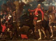Giuseppe Caletti Il Cremonese - Il Baccanale (la Processione Carnevalesca)