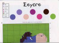 "Gallery.ru / elypetrova - Альбом ""44"" Eeyore, Pink Brown, Purple, Disney Stitch, Pooh Bear, Counted Cross Stitch Patterns, Cross Stitching, Beading Patterns, Palette"