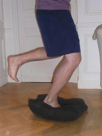 Auto- Rééducation cheville. Exemples d'exercices.