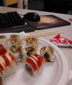 Sushi from Kai! Just down the street from us in Worcester, MA