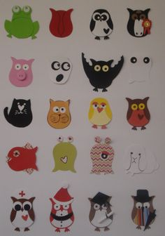 stampin up owl punch cards | ... designs I found on the web, and my daughter came up with the horse