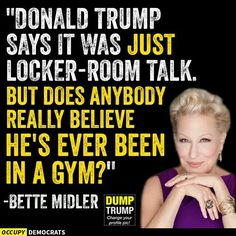 Just Locker Talk - Never Been To A Gym! Dump Don the Con Treasonous Trump