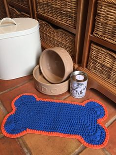 Crochet Club: dog mat!