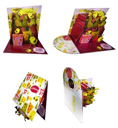 Pop-Up CD Case Design - Cindy Suen | Motion, Design, Illustration