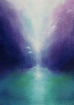 Liane Collot d'Herbois Wet On Wet Painting, Painting & Drawing, Rudolf Steiner, Lazure Painting, Wax Crayons, Watercolor Artwork, Angel Art, Spiritual Inspiration, Light Art