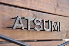 【セミオーダーメイド】鉄文字表札&看板 11月〜1月はご注文が混み合います。ご注文はお早めに!の画像6枚目 Metal Signage, Wayfinding Signage, Signage Design, Lettering Design, Sign System, Iron Art, Environmental Design, Salon Design, Name Signs