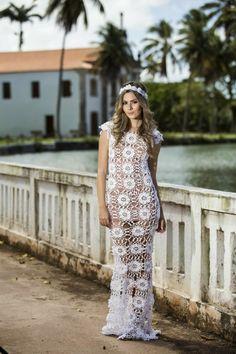 In love com esse vestido!!!! Dá até pra casar!!!