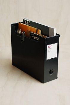 jDelfonics - 'Buro' Document Box - Black