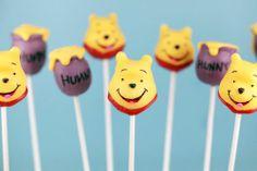 cakepop, winnie the pooh
