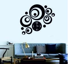 zrkadlové nastenné hodiny,zrcadlové hodiny, mirror wall clock, spiegel Wanduhr, zegar ścienny Lustro