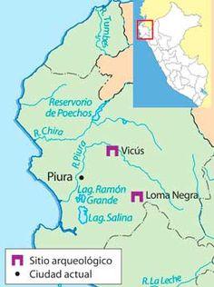 Mapa de la Cultura Vicus