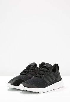 adidas Originals ZX FLUX ADV VERVE - Sneaker low - core black/white -  Zalando