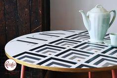 Art Deco Table by Jonathon Marc Mendes