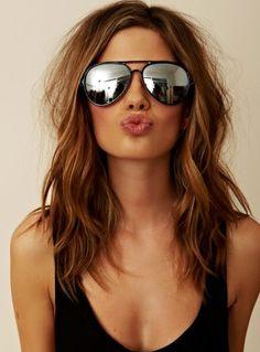 beachy hair - not too blonde