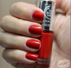 The Body Shop nail polish Relish the Moment $5.00