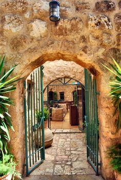 Jordan: Amman & Madaba  I believe this is the restaurant Haret Joudna… one of my favorite restaurants in Jrdn !