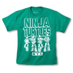 Boys Teenage Mutant Ninja Turtles TMNT NYC Shirt New w/ Tags Sz 10-12 Summer!! #Nickelodeon #SchoolEveryday