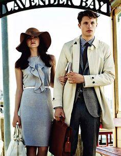 stylish couple.