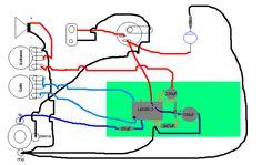 Little Gem Layout Guitar Amp, Circuits And Guitars Cigar Box Amp Kit House Amplifier Wiring Diagram 5 Channel Amplifier Wiring Diagram At IT-Energia.com