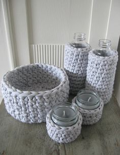 Crochet Projects, Diy Projects, Cotton Cord, Make Your Own Clothes, Textile Fabrics, Chrochet, Decoration, Hand Knitting, Creative