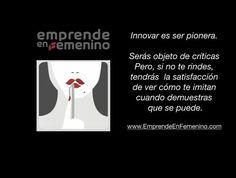 #emprendeenfemenino #emprendedoras #pioneras #innovar #tipsparaelexito