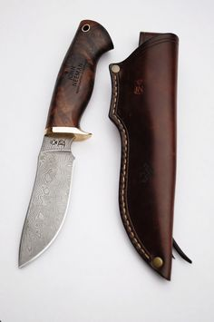 Knife Making Forge, Leather Wallet Pattern, Forged Knife, Leather Craft, Handmade Leather, Fixed Blade Knife, Custom Knives, Survival Knife, Leather Tooling