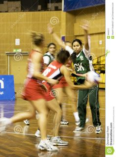 7th Asian Netball Championship Action (Blurred) Editorial ...