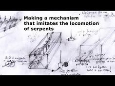 Snake Locomotion  Mechanism   -Kinetic Sculpture(under construction) - YouTube