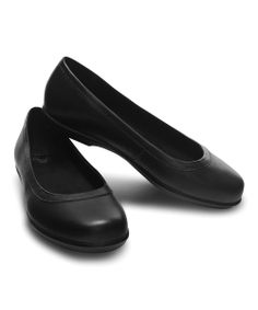 Black Crocs Grace Flat - Women