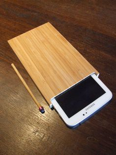 "porta tablet 7"" in bambù di elle8esse su Etsy"