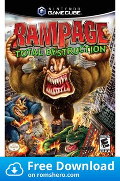 42 Best Rampage Game Images In 2020 Rampage Game Rampage Games