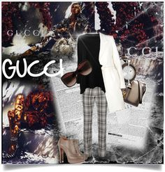 """""""Icons of Heritage with Gucci"""" by anashe ❤ liked on Polyvore"""