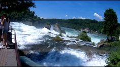 Las Cataratas del río Rin en Schaffhausen Suiza