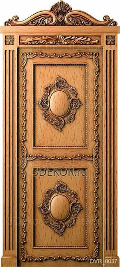 Home Decoration For Anniversary Wooden Front Door Design, Door Gate Design, Room Door Design, Door Design Interior, Main Door Design, Wooden Doors, Wooden Stairs, Door Frame Molding, Classic Doors