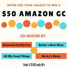$50 Amazon Giveaway