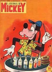 Le Journal de Mickey #274 (Issue)