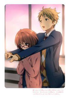 So adorable x3  Anime = Kyoukai No Kanata