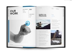 Company Profile of Focustindo Cemerlang by CDS Worldwide , via Behance