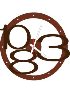 3D wall clock Exclusive, color: light brown, brown numbers, white hands Reference:  X00013-RAL8011-RAL8017 Condition:  New product  Availability:  In Stock  Time to change! Decorating watches will revive every interior, highlight the charm and style of your space. Discover your living with new clocks. Plexiglass wall clocks are a wonderful decoration of your interior.