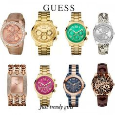 Best Luxury Watches For Women Woman watches trends 2015 www. Best Kids Watches, Watches For Men, Guess Watches, Wrist Watches, 2015 Fashion Trends, 2015 Trends, Woman Watches, Trendy Accessories, Bohemian Jewelry
