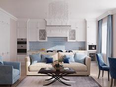 Elegant Home Decor, Elegant Homes, Style At Home, Kitchen Room Design, Home Organization, Interior Inspiration, Decoration, New Homes, Indoor