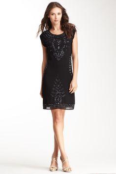 Yuka Paris Embellished Dress