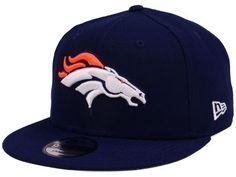 huge selection of 1a3b8 249b1 Denver Broncos New Era NFL Team Color Basic 9FIFTY Snapback Cap