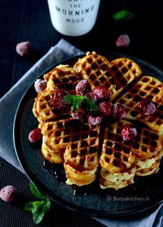 Vegan Recipes, Vegan Food, Waffles, Brunch, Favorite Recipes, Sweets, Candy, Dinner, Cooking