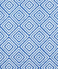 Bedroom window treatment - Portfolio Electrify Azure Fabric. Think this might be my current favorite...