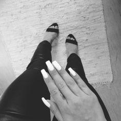 long white nails