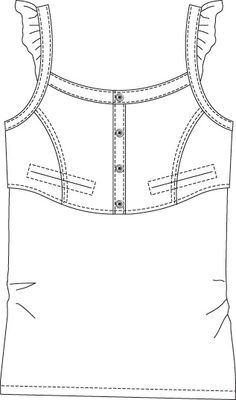 Croquis De Mode Clothing Templates Fashion Design Designing Clothes Flat