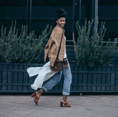 @ lulamawolf Black Women Fashion, Womens Fashion, African Hairstyles, Everyday Look, Duster Coat, Ready To Wear, Normcore, Twists, Chic