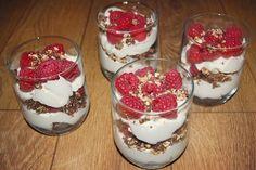 G is for Gingers: Cranachan with Scottish Raspberries Raspberries, Panna Cotta, Pudding, Baking, Ethnic Recipes, Desserts, Food, Dulce De Leche, Deserts