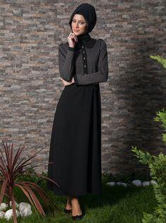 Trendy Hijab Fashion: 2013 Winter Dress Models for Muslim Womens